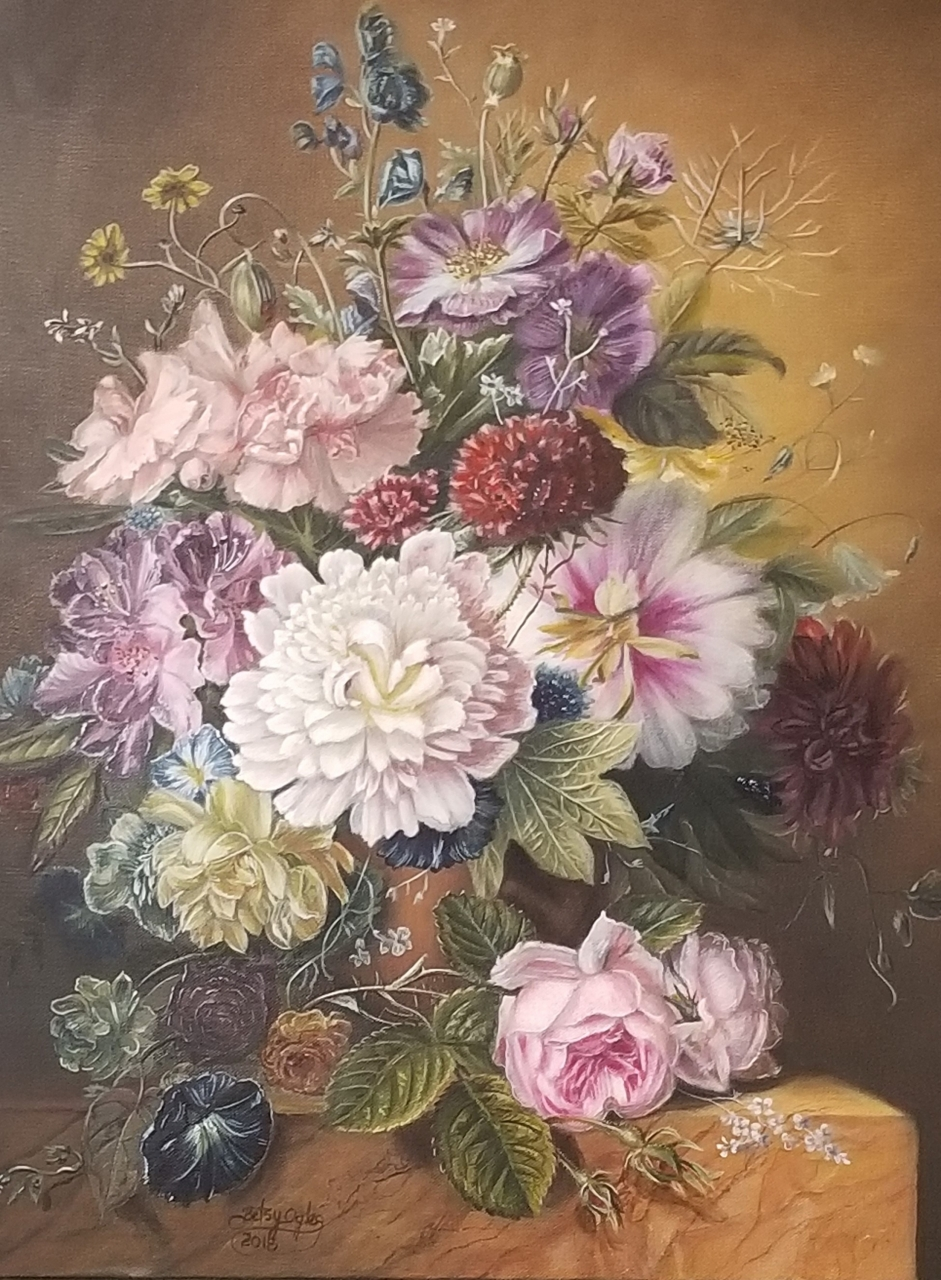 My Finished Bloemers Dutch Floral 300 dpi