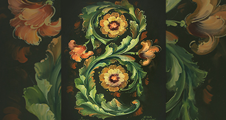 S103 The Art of Rosemaling